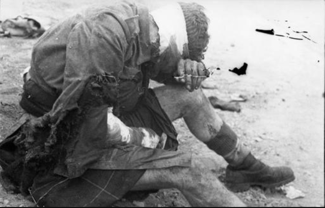 Surviving Japanese soldier.