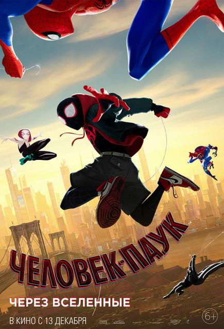 Смотреть Человек-паук: Через вселенные / Spider-Man: Into the Spider-Verse Онлайн бесплатно - Мы всё знаем о Питере Паркере. Он спас город, влюбился, а потом спасал город снова и...