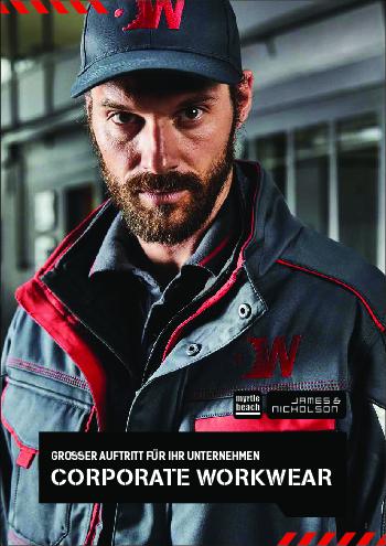 Brochure corporate workwear Daiber