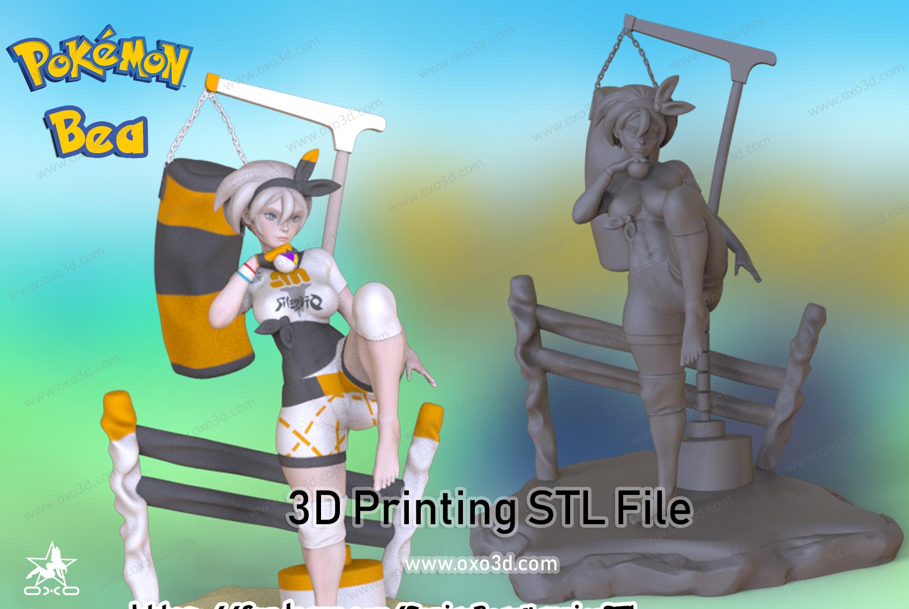 Bea Pokemon 3D Print Model - without Color