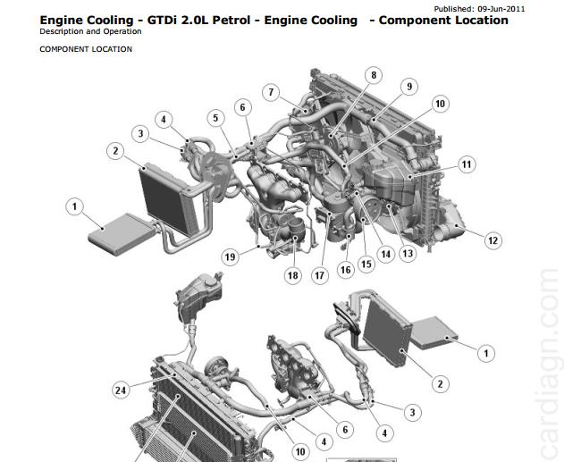 Range Rover Evoque (L538; 2011–2013) Workshop Manual + Wiring Diagrams -  MHH AUTO - Page 1MHH AUTO