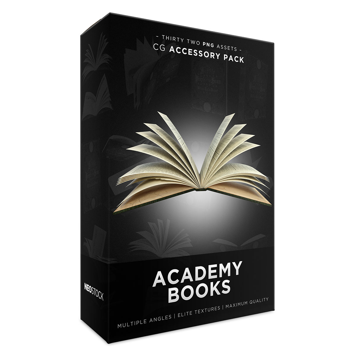cg academy books product box sales