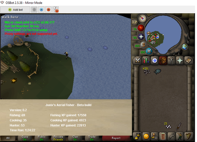 Osrs Aerial Fishing — Available Space Miami
