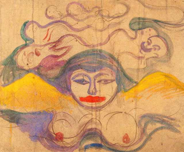 Edvard-Munch-the-swamp