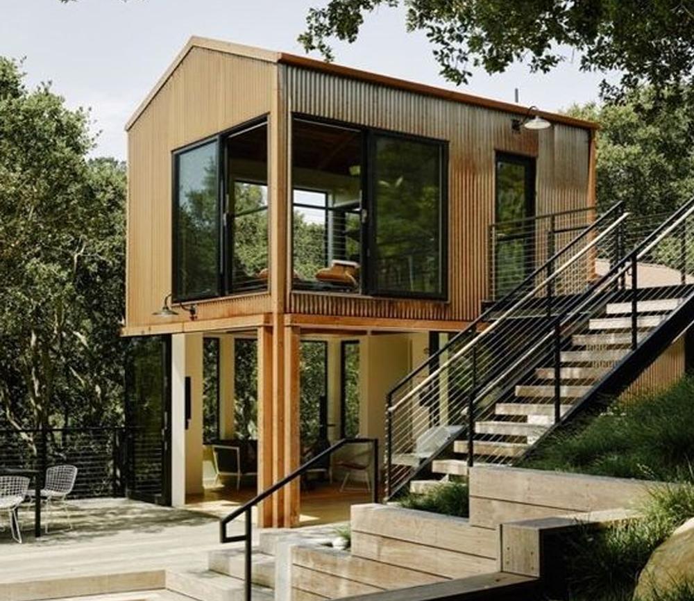 Desain Rumah dengan Komposisi Gubahan