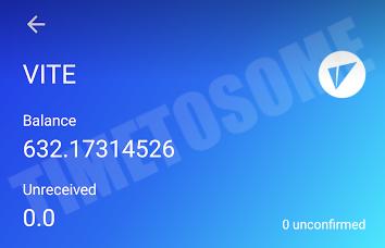 OPORTUNIDADE [Provado] Vite Wallet - Nova carteira com tokens Gratis - Android/iOS - (Actualizado em Maio de 2019) Lastvvite