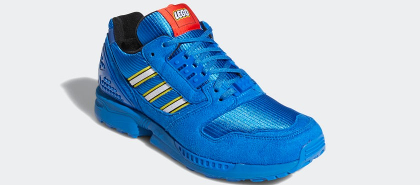 ZX 8000 Bricks, le nuove sneakers adidas x Lego