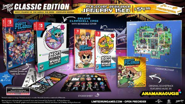 Scott Pilgrim vs. The World:遊戲–完整版PS4和Switch限量版印刷實體版預購將於1月15日開始 Scott-Pilgrim-vs-the-World-The-Game-CE-Limited-Run-Games-01-08-21-002-600x338
