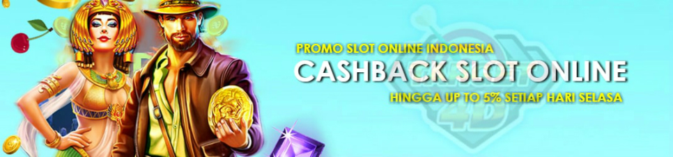 Promo Judi Slot Online Up To 5%