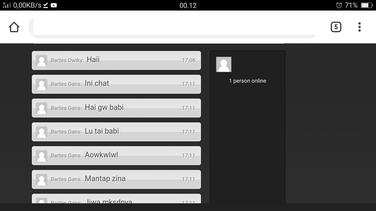 Free Download - Script Room Chat Terbaru PHP Mysql