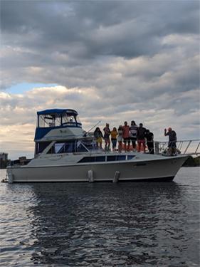 Harrington Staff Boat Party