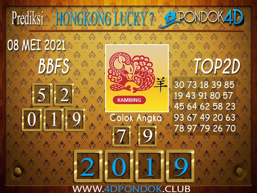 Prediksi Togel HONGKONG LUCKY7 PONDOK4D 08 MEI 2021