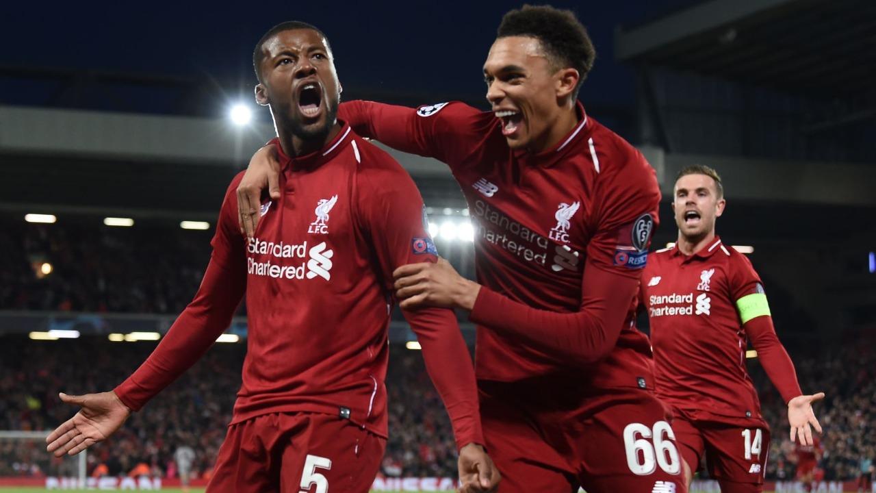 Liverpool aplastó 4-0 a Barcelona y clasificó a la final de la Champions League
