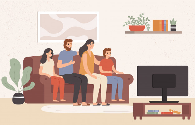 family-watching-television-together-happy-people-watch-tv-in-living-room-young-family-watching-movie