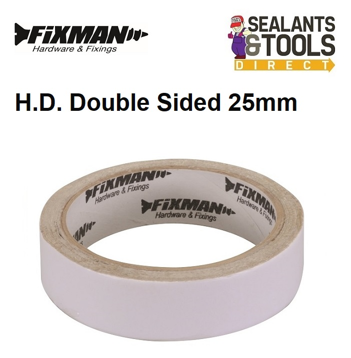 Fixman Super Hold Double Sided Tape 25mm 193687
