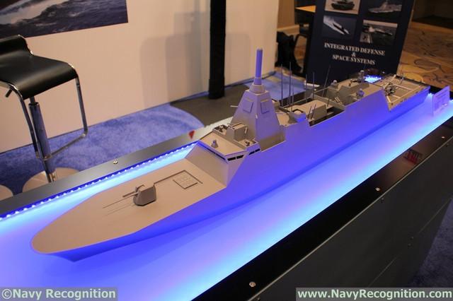 Japans MHI Showcasing 30 DX Multi Mission Frigate Design 1
