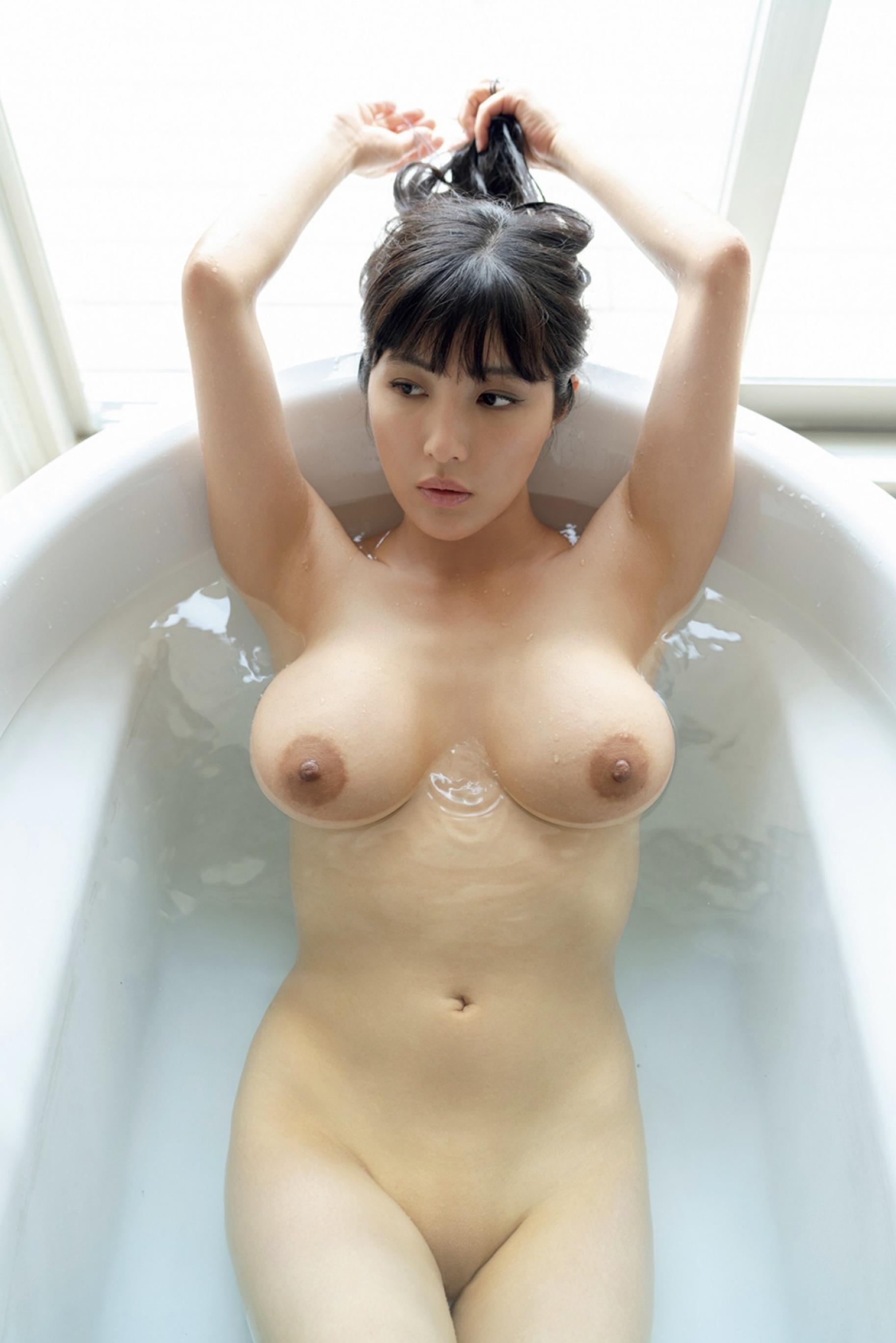 渡辺万美 Hカップ ヌード プレイメイト グラビア 画像 006