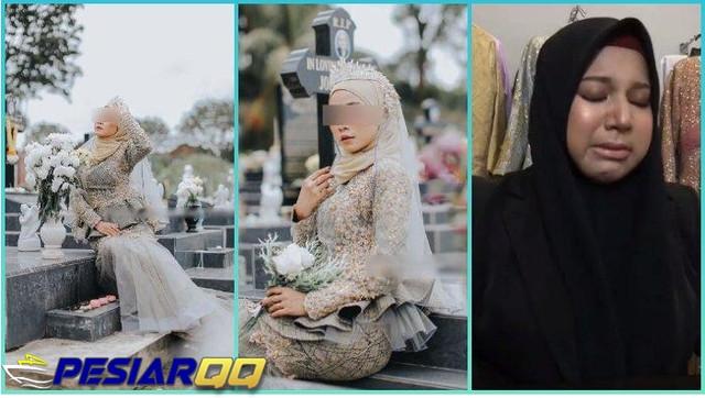 VIRAL Pemotretan Baju Pengantin di Pemakaman, Pemilik Butik Buka Suara setelah Dikritik Netizen