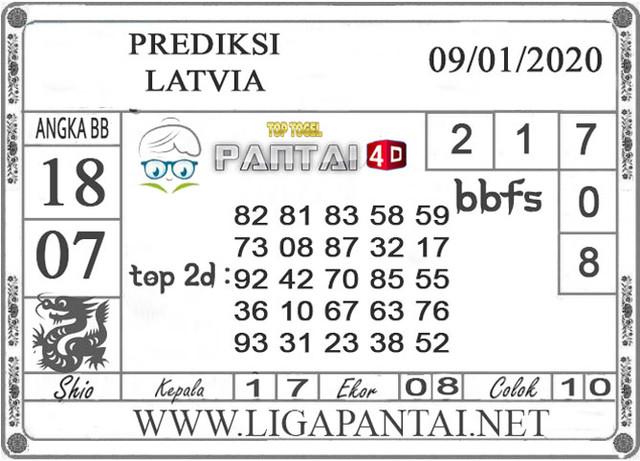PREDIKSI TOGEL LATVIA PANTAI4D 09 JANUARI 2020