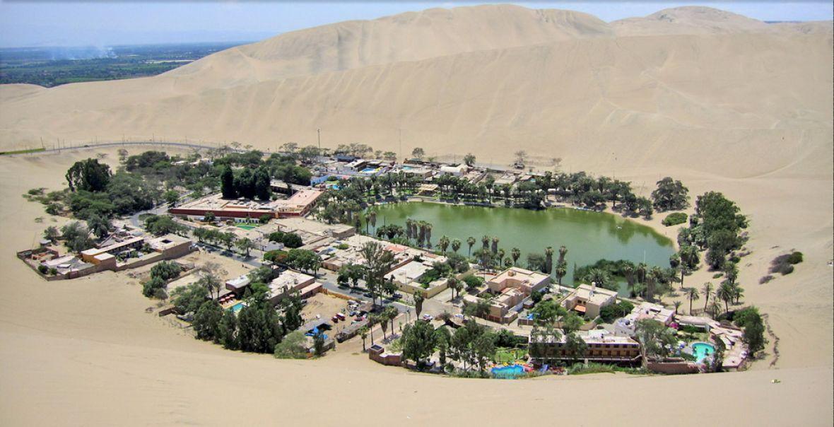 """Čudo u pustinji: Ljekovito jezero oko kojeg je izgrađeno selo """"s 5 zvjezdica"""""""