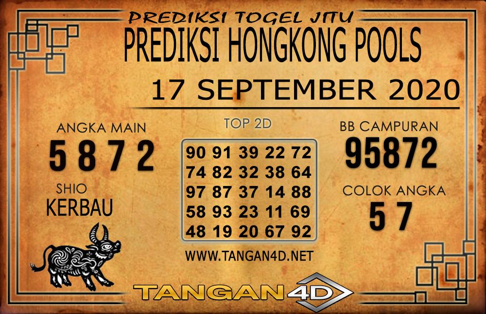 PREDIKSI TOGEL HONGKONG TANGAN4D 17 SEPTEMBER 2020