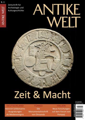 Cover: Antike Welt Zeitschrift für Archäologie und Kulturgeschichte No 05 2021