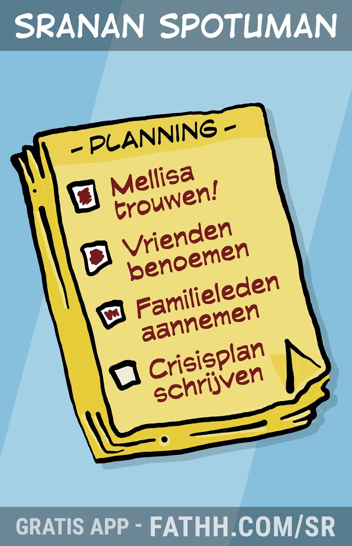 Sranan Spotuman : Het lijstje