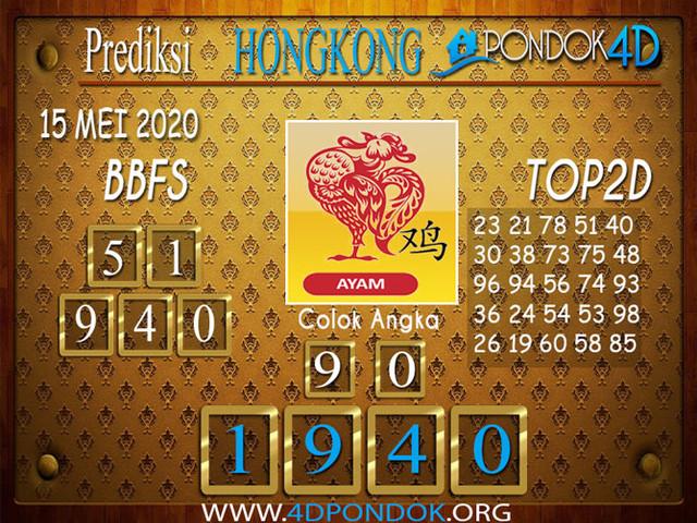 Prediksi Togel HONGKONG PONDOK4D 15 MEI 2020