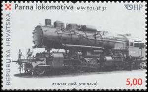 2008. year LOKOMOTIVE-PARNA-LOKOMOTIVA-SERIJE-M-V-601-J-32