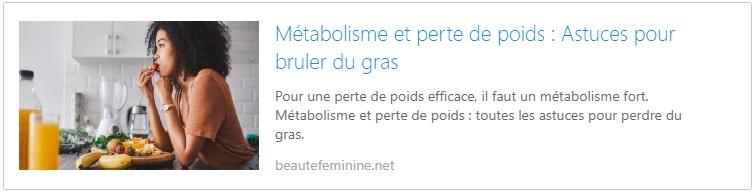 metaolisme-et-perte-de-poids