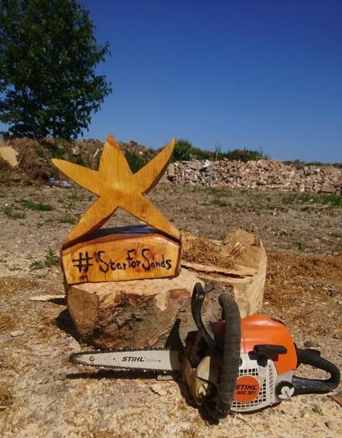 wooden-star