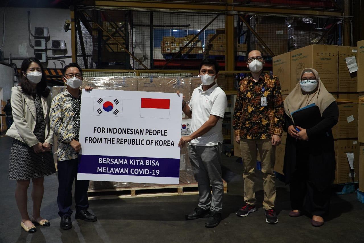 Bantuan Covid 19 Korea Selatan