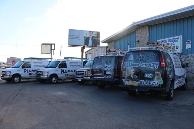 Oklahoma City Plumbing vans