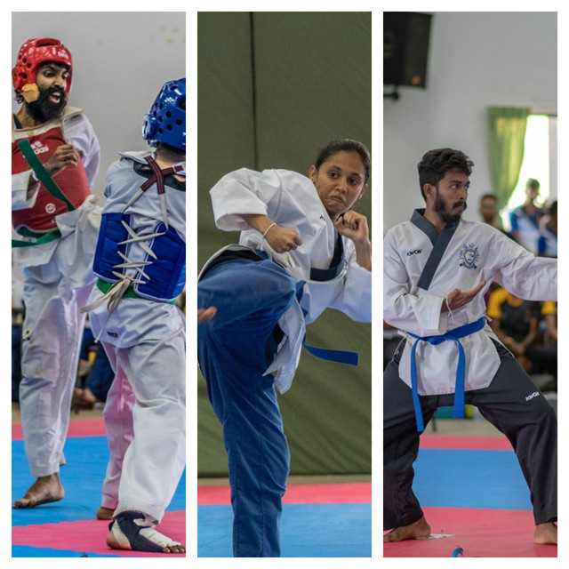 MORA SECURES DOUBLE TITLES IN TAEKWONDO