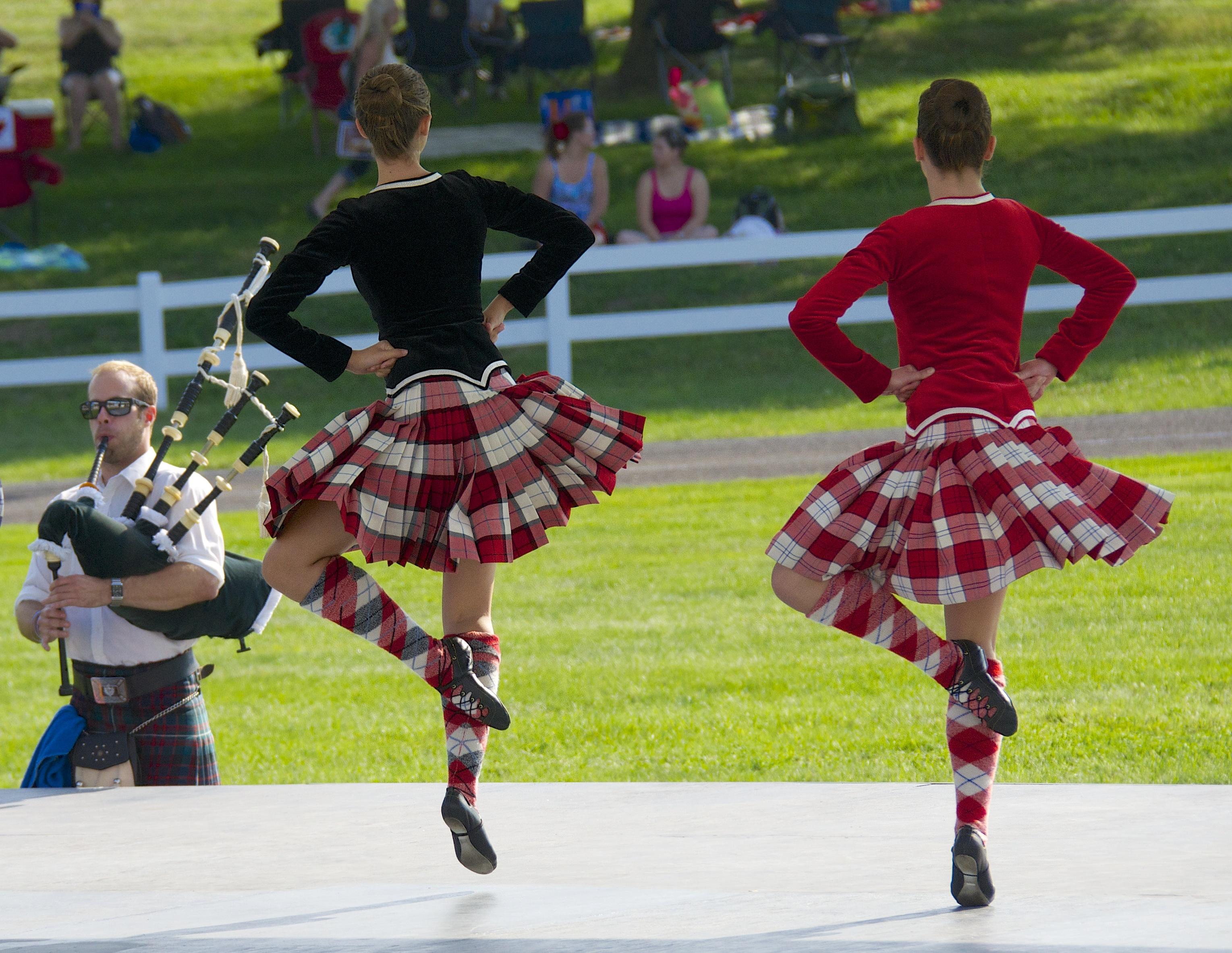 Highland Dancers at Glengarry Games