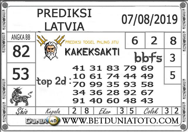 "Prediksi Togel ""LATVIA"" DUNIA4D 07 AGUSTUS 2019"