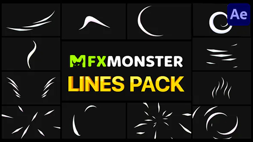 Lines Pack | After Effects 32385842 - Project & Script (Videohive)