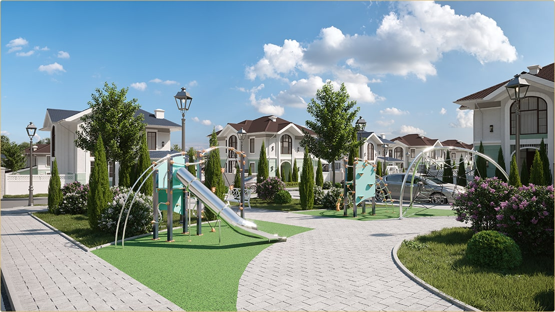 Детская площадка 3