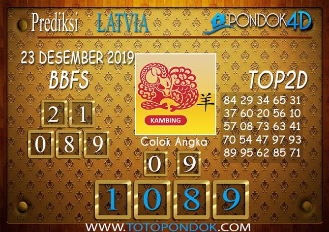 Prediksi Togel LATVIA POOLS PONDOK4D 23 DESEMBER 2019