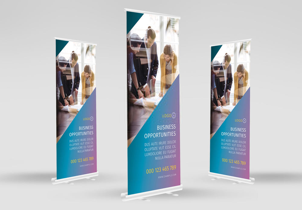 50 Banner Templates (PSD+PNG)