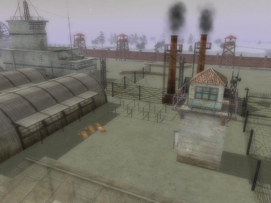 Мультиплеерная карта Winter Base