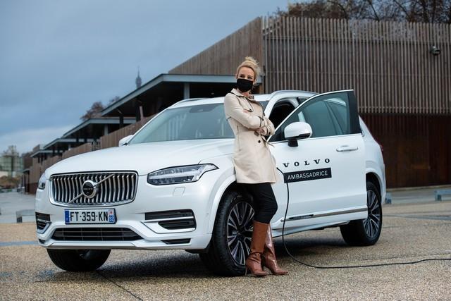 Elodie Gossuin, nouvelle ambassadrice de Volvo Car France en 2021 Elodie-Gossuin-Augustin-D-tienne-13