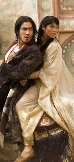 Prince Dastan (Jake Gyllenhaal) and Princess Tamila (Gemma Arterton) planning an escape