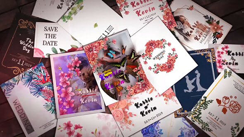 Wedding Invitation Slideshow B31 31552496 - Project for After Effects (Videohive)