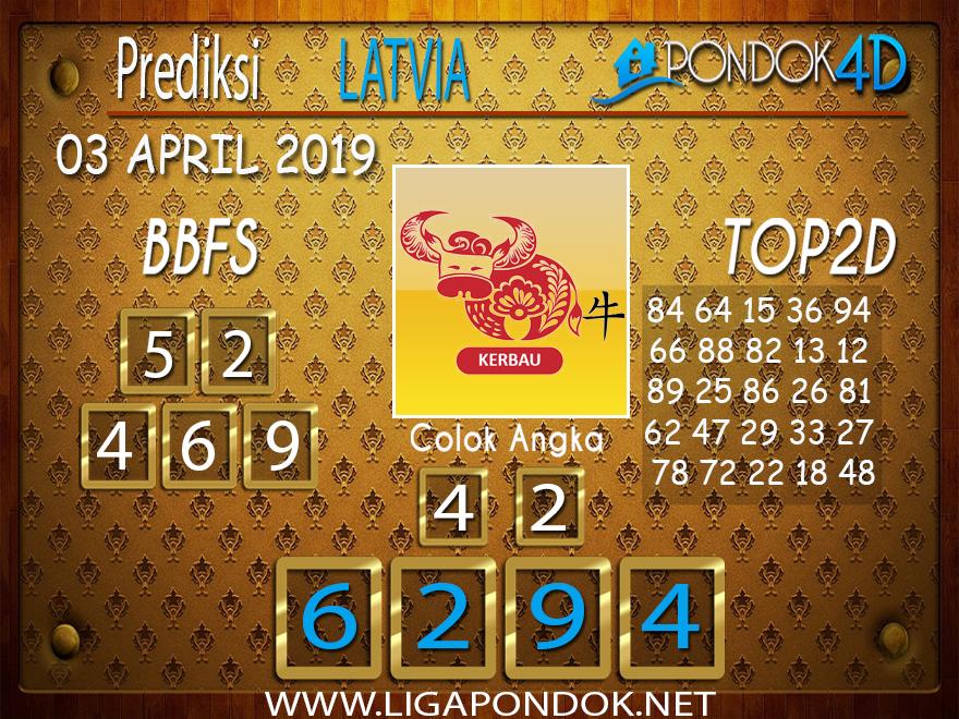 Prediksi Togel LATVIA PONDOK4D 03 APRIL 2019