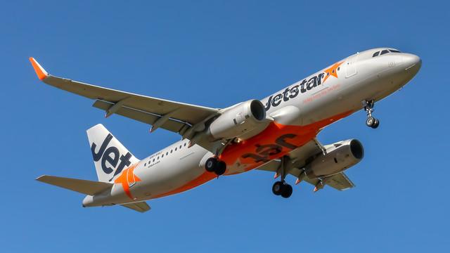Jetstar A320 VH XSJ