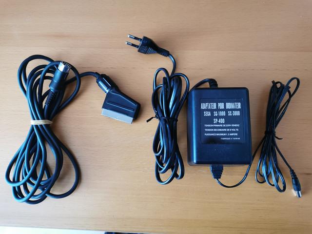 [VENDU] Alim + Cable Peritel SEGA YENO SC-3000 / SG-1000 / SP-400 IMG-20210213-161816