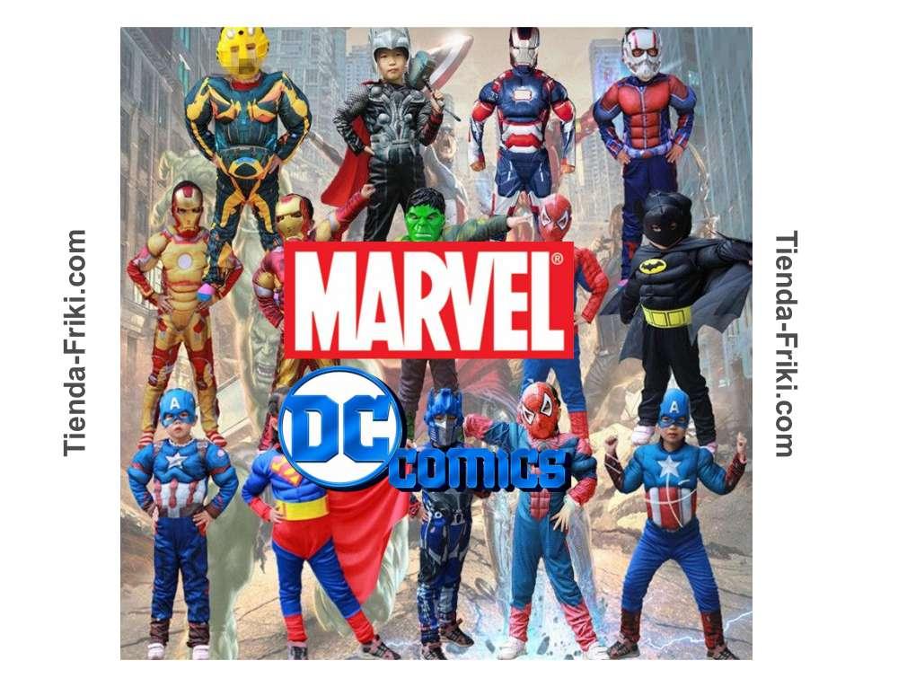 Ver disfraces de Marvel infantiles 2021