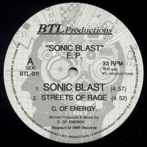 Chris Energy - Sonic Blast E.P.