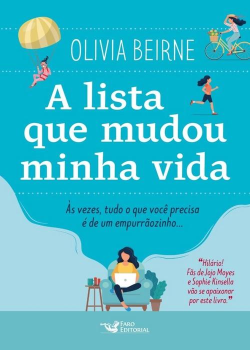 Resenha #342 A Lista que mudou a minha vida – Oliva Beirne @Faroeditorial